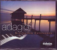 Adagio - Klassik zum Entspannen  -   Reader's Digest  4 CD BOX  OVP