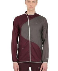 Nike NikeLab x Undercover Gyakusou Running Jacket Burgundy/Grey Mens Sz Large