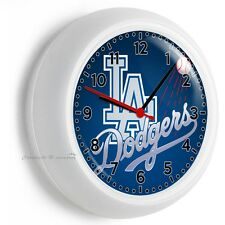 LA DODGERS LOS ANGELES BASEBALL TEAM WALL CLOCK MAN CAVE LIVING TV ROOM GARAGE
