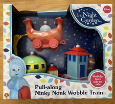 In The Night Garden Pull Along Ninky Nonk Wobble Train
