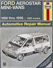 Haynes Ford Aerostar Mini-Vans Automotive Repair Manual 1986-1996 GUC