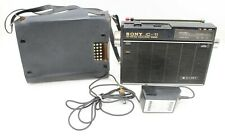 Vintage Sony ICF-110W Transistor Short Wave Portable Radio, Japan, FM, SW, MW