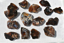 Fire Agate Rough from Mexico.  Approximately 1.7 pounds.  Lot #1.