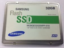 """Samsung MCBQE32GEMPP MCBQE32GEMPP-01A D612F 32GB PATA ZIF 1.8"""" Flash SSD Drive"""