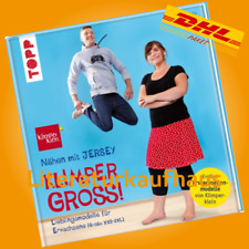 Pauline Dohmen: Nähen mit Jersey für Erwachsene Größe XXS-3XL Buch/Schnittmuster