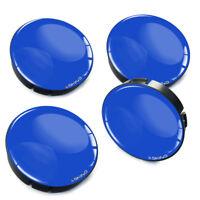 60mm / 55mm Blau Felgen Kappe Nabenkappen Felgendeckel Nabendeckel Universal