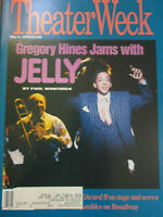 Theater Week Magazine - Gregory Hines Jams with Jelly