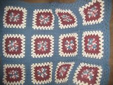 "NEW handmade 39"" x 48"" Crochet Afghan Throw/Lap Blanket *5 colors to choose from"