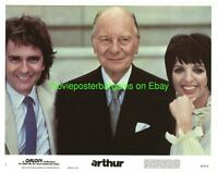 ARTHUR COMPLETE  LOBBY CARD SET 11 BY 14 SIZE MOVIE POSTER'S DUDLEY MOORE