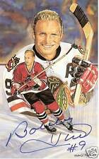 Bobby Hull Autographed Legends of Hockey PostCard