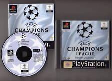 UEFA CHAMPIONS LEAGUE SEASON 2000/2001. PAL ESPAÑA ..Envio Gratis y Certificado