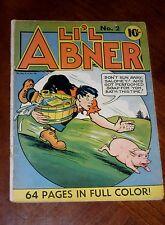 SINGLE SERIES #18 (1940) VG cond. LI'L ABNER #2 Nice Copy!