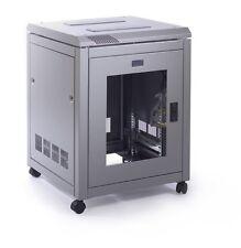 More details for  data cabinet 12u 600 wide x 600 deep - glass door