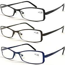 AM101 Quality Unisex Reading Glasses/Thin Optical Frame/Plastic Arm Cover Design