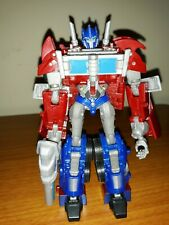 2011 Transformers Prime Deluxe Class Optimus Prime First Edition