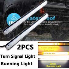 LED Daytime Running Light DRL Turn Signal Light Car Truck Trailer Indicator 12V