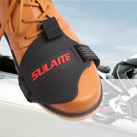 Motorcycle Shift Guard Cover Protective Gear Shifter Pad Shoe Boot Protector  dn