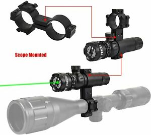 Rifle Scope Mount Tactical Laser Sight Green or Red Dot Sight Two Styles Hunting