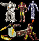 2007 IRON MAN MOVIE - BURGER KING - Complete 6 Toy Factory Sealed Set