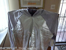 BONGO SILVER KAYLA CROPPED  JUNIORS L/S HOODED SWEAT TOP SIZE X LARGE NWT
