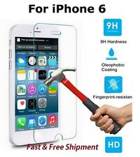 """FOR IPHONE 6 6S 7 4.7"""" PREMIUM TEMPERED GLASS 9H SCREEN PROTECTOR"""