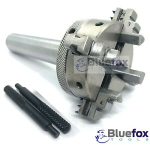 4 jaw Self-Centering Mini Lathe Chuck Reversable 50mm With MT2 Shank Arbour