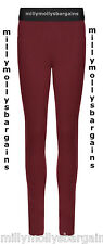 New Womens Marks & Spencer Red Jeggings Size 14 Medium DEFECT