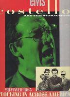 Original Elvis Costello - Clocking In Across America 1983 US Tour Programme