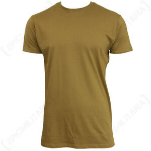 US Style BDU T-Shirt - Coyote - Cotton T Shirt Top Army Military All Sizes New