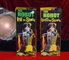 LOST IN SPACE Aurora Original ROBOT Model BOX, Very Good Condition, 1968 + More!