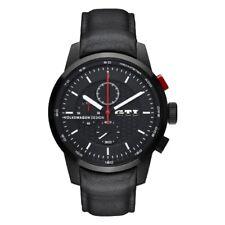 Genuine Volkswagen Black GTI Chronograph Watch brand new