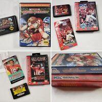 Sega Genesis Lot of 3 TESTED Games- NFL Football, Classic & Super High Impact #6
