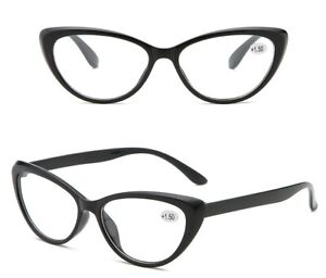 3/6/12 Pack Womens Cat Eye Reading Glasses Sexy Readers PC Fashion +1.0~4.0 D783