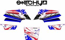 KIT ADESIVI GRAFICHE ATV QUAD PATRIOT YAMAHA BANSHEE decals graphics