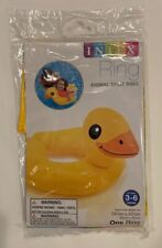 Inflatable Intex Pool Split Ring Float Swim Child Duck Kids Fun Floatation New