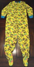 Nickelodeon Spongebob Squarepants I Love Nerds Pajamas Juniors Womens L 11/13