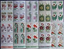Romania 1965,Botanical Garden of Cluj, Flowers4x10 St.In Block of 4.RO194