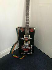 More details for cigar box  guitar six string