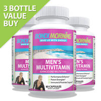 Daily Mens Multivitamin Capsules, Multi Health Supplement For Energy & Nutrition