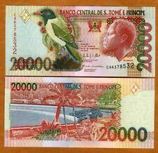 St Thomas & Prince, 20,000 (20000) Dobras, 2013 P-67e, UNC