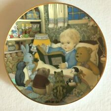 Storytime Plate By Carol lawson limited edition/fine porcelain