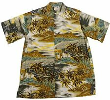 Go Barefoot Mens Diamond Head Vintage Fujiette Rayon Shirt