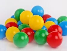 250 BRAND NEW SOFT PLAY BALLS PLASTIC BALL PIT POOL QUALITY COMMERCIAL GRADE 6CM