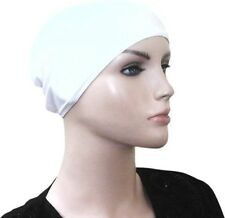 Under Scarf Hat Cap stretch Bonnet Lycra Hijab Islamic Head Cover Muslim Hat Cap