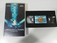 LA MAQUINA DEL TIEMPO GUY PEARCE JEREMY IRONS VHS CINTA TAPE CINTA CASTELLANO &