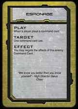 Hawk Wargames BNIB Dropfleet Commander PHR Command Cards HDF-10007