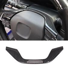 Carbon Fiber Interior Steering Wheel Frame Cover Trim Fit For Honda Accord 2018