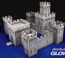 MiniArt große Mittelalterliche Festung big Medieval Castle Schloss 1:72 Burg kit