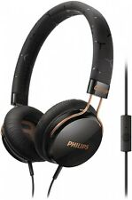 Philips SHL5305BK/00 CitiScape HiFi Kopfhörer Mikrofon On Ear Ohrbügel schwarz !