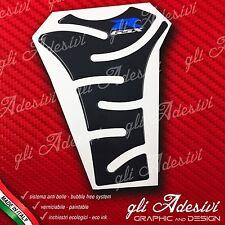 Paraserbatoio Resinato Sticker 3D SUZUKI GSX R Black & Blu Moto